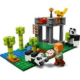 LEGO Minecraft 21158 Pandí školka - rozbaleno