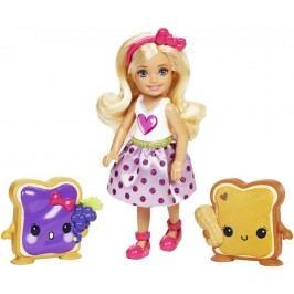 Mattel Barbie Chelsea a sladké dobroty Sandwich