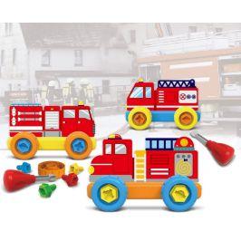 MaDe Malý mechanik plastový Junior - hasiči - rozbaleno
