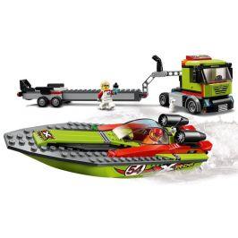 LEGO City Great Vehicles 60254 Přeprava závodního člunu - rozbaleno