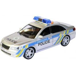 MaDe Policejní auto s českým hlasem na setrvačník 24 cm - zánovní