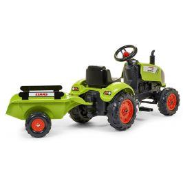 Falk Traktor šlapací Claas Arion 410 s valníkem - rozbaleno