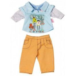 BABY born Oblečení na chlapečka, béžové kalhoty