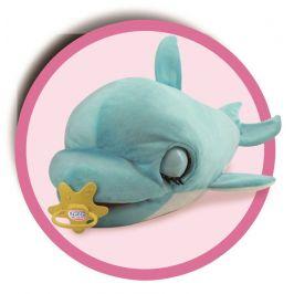 Mikro hračky Delfín Blu Blu 60cm plyšový - zánovní
