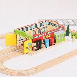 Bigjigs Rail Železniční opravna