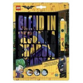 LEGO® Batman Movie Zápisník s neviditelným perem - Batgirl