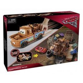 Mattel Cars 3 Transformující se auto - Blesk McQueen modrý
