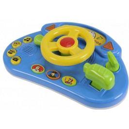 Simba Kokpit závodního auta - žlutý volant