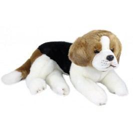 Rappa Plyšový pes Bígl ležící, 38 cm
