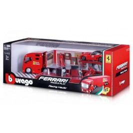 BBurago Ferrari Race & Play Racing Hauler (1:43)