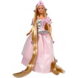 Simba Panenka Steffi Rapunzel - světle růžové šaty
