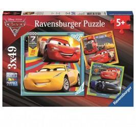 Ravensburger Disney Auta 3 I 3x49 dílků