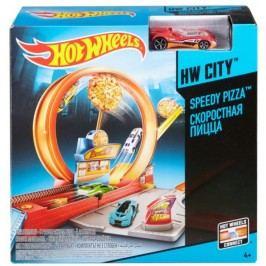 Hot Wheels Klasická hrací souprava Speedy pizza