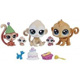 Littlest Pet Shop Rodinné balení zvířátek - Monkeys