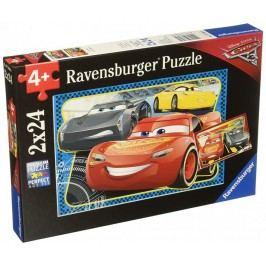 Ravensburger Disney Auta 3: Můžu vyhrát! 2x24 dílků