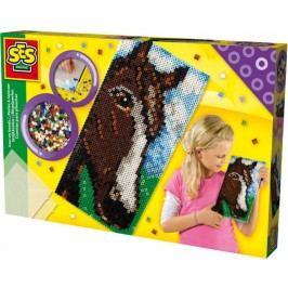 SES Zažehlovací korálky velký kůň XL