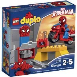 LEGO® Duplo 10607 Spidermanova dílna pro pavučinové kolo