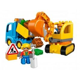 LEGO® DUPLO 10812 Pásový bagr a náklaďák