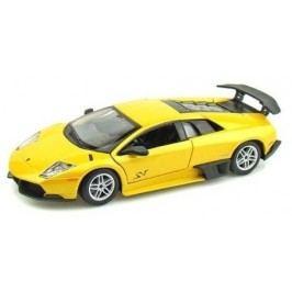 BBurago PLUS Lamborghini Murciélago LP 670-4 SV (1:24) - žluté