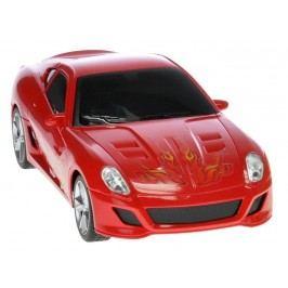 Mikro hračky Auto I-DRIVE s ovládacím náramkem červené