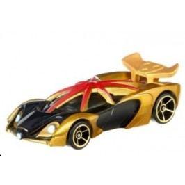 Hot Wheels Marvel Kultovní angličák zlatý