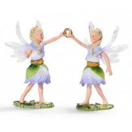 Schleich Elfí víly dvojčata