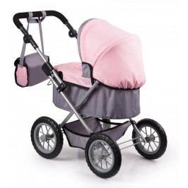 Bayer Design Trendy - kočárek pro panenky 2016 růžovo-šedá