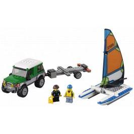 LEGO® City 60149 4x4 s katamaránem