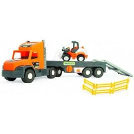 Wader Auto Super Tech Truck s nakladačem