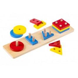 Hračky Montessori - pomůcky geometrické tvary