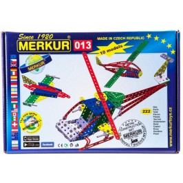 Merkur Stavebnice 013 Vrtulník 10 modelů 222ks