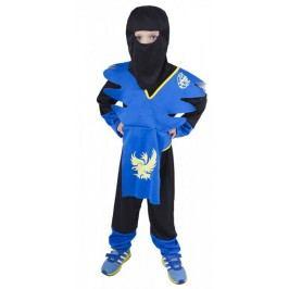 Rappa Kostým NINJA modro-žlutý M