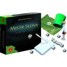 Alexander Mistr Slova společenská hra s kostkami