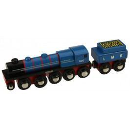 Bigjigs Rail Replika lokomotivy LMR Gordon + 3 koleje