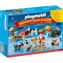 Playmobil 6624 Adventní kalendář Vánoce na farmě