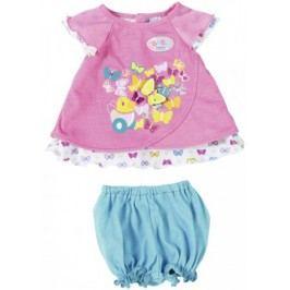 BABY born Růžové šatičky s motýlkem