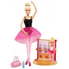 Mattel Barbie sportovní set balerína