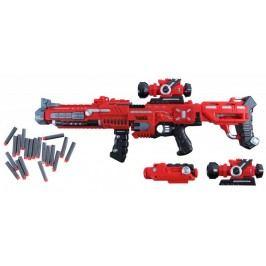 Teddies Pistole samopal plast 75cm na pěnové náboje