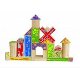 Hape Bambusová stavebnice - hrad