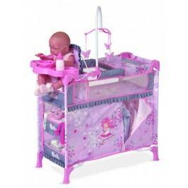 DeCuevas Postýlka pro panenky s doplňky