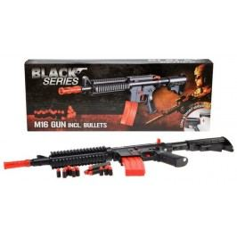 Teddies Pistole s pěnovými náboji Black Series M16