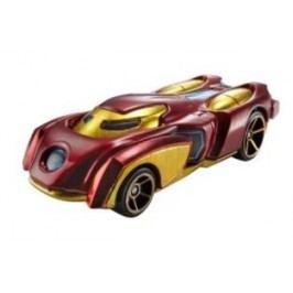 Hot Wheels Marvel Kultovní angličák žluto-červený