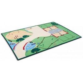 Schleich Svět přírody - koberec na hraní s motivem farmy 133 x 95 cm 42138