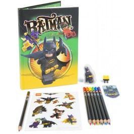 LEGO® Batman Movie Stationery set se zápisníkem