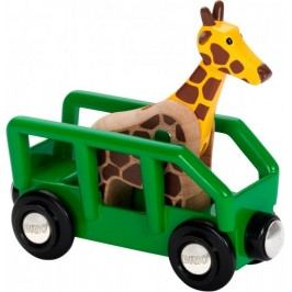 Brio Žirafa ve vagónu