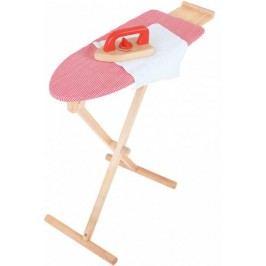 Bigjigs Toys Dřevěné žehlící prkno se žehličkou