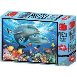 Lamps 3D Puzzle Moře 500 dílků
