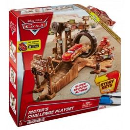 Mattel Cars set kardanová lhota Jump & Race Burákova výzva