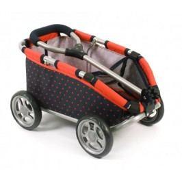 Bayer Chic Tahací vozík SKIPPER červená/černá