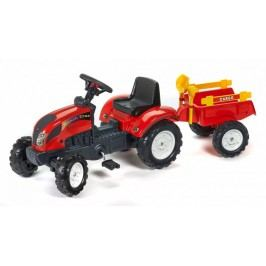 Falk Traktor RanchTrac s přívěsem